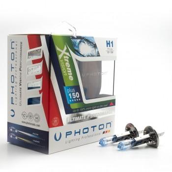 Set becuri PHOTON H1 12V 55W XTREME VISION +100% mai multa LUMINA & Durata de Viata - PH5501 XV