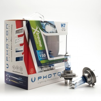 Set becuri PHOTON H7 12V 55W XTREME VISION +%150 - PH5507 XV