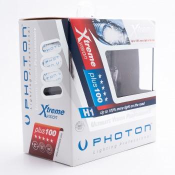 SET becuri PHOTON H1 24V XTREME VISION +100% mai multa LUMINA & Durata de Viata - PH6601 XV