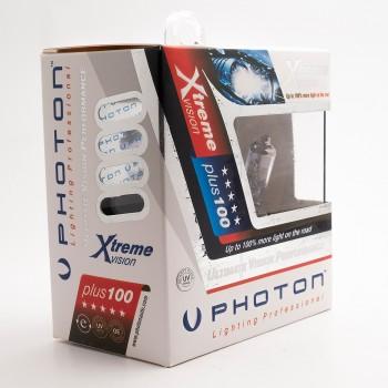 SET becuri PHOTON H7 24V XTREME VISION +100% mai multa LUMINA & Durata de Viata - PH6607 XV