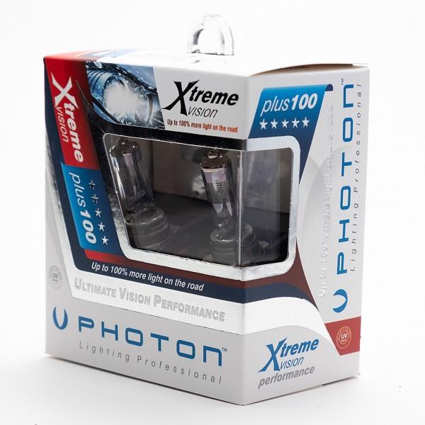 SET becuri PHOTON H11 24V XTREME VISION +100% mai multa LUMINA & Durata de Viata - PH6611 XV
