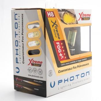 Set becuri PHOTON H8 12V 35W XTREME GALBEN - PH5508 XY