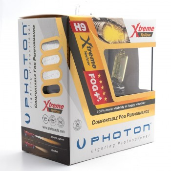 Set becuri PHOTON H9 12V 65W XTREME GALBEN - PH5509 XY