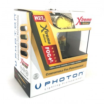 Set becuri PHOTON H27-2 12V 27W XTREME GALBEN - PH5527 XY