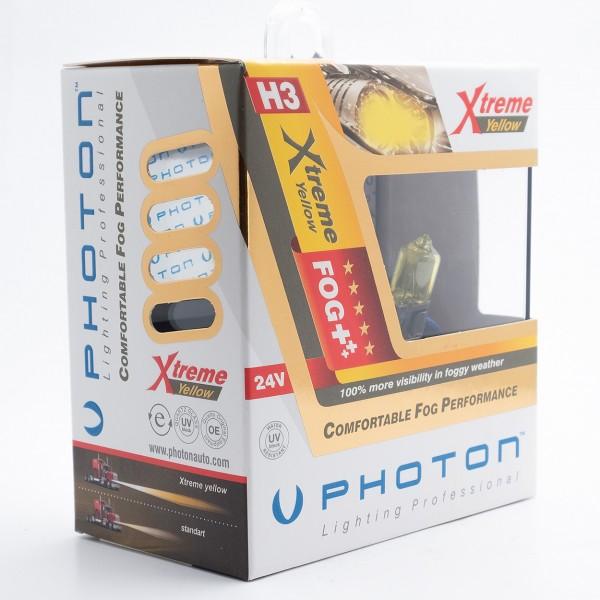 SET becuri PHOTON H3 24V 70W XTREME GALBEN - PH6603 XY
