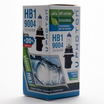 Bec PHOTON HB1 12V 65/55W 9004 PR Long Life +30% mai multa LUMINA & Durata de Viata  - PH5594 LL