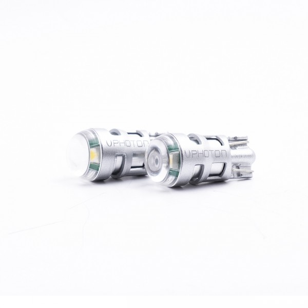 SET becuri PHOTON T10 W5W 12V 9 SMD LED - PH7016