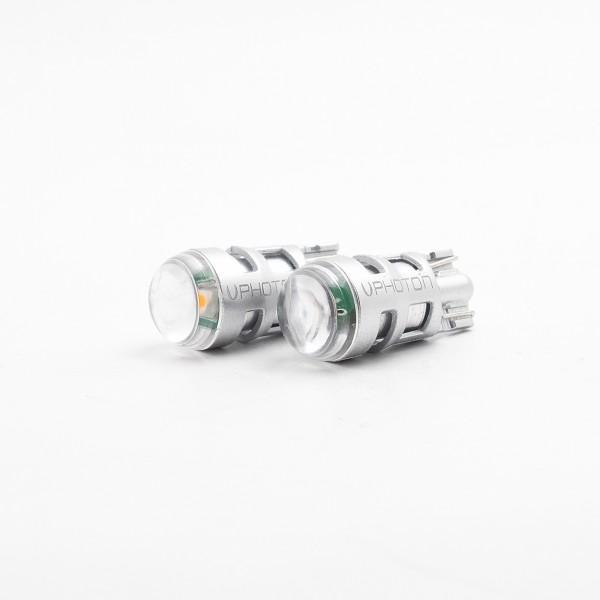 SET becuri PHOTON T10 W5W 12V mai multa LUMINA GALBENA LED - PH7016 NA