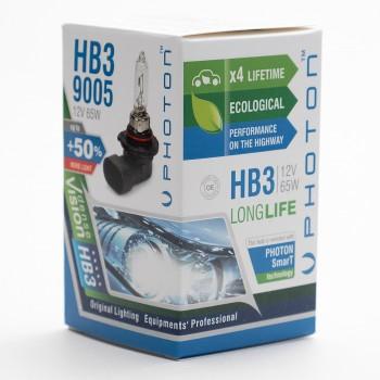 Bec PHOTON HB3 12V 65W 9005 PR Long Life +30% mai multa LUMINA & Durata de Viata - PH5595 LL