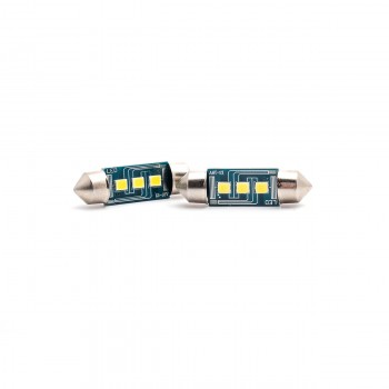 SET becuri PHOTON C5W 12V CANBUS 3 SMD 36mm FESTOON LED - PH7008