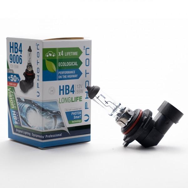 Bec PHOTON HB4 12V 55W 9006 PR Long Life +30% mai multa LUMINA & Durata de Viata - PH5596 LL